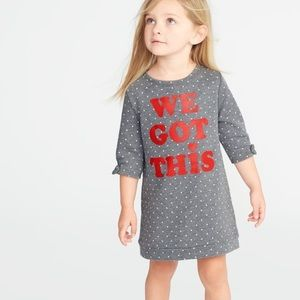 We got this ❤️❤️  French terry shift dress